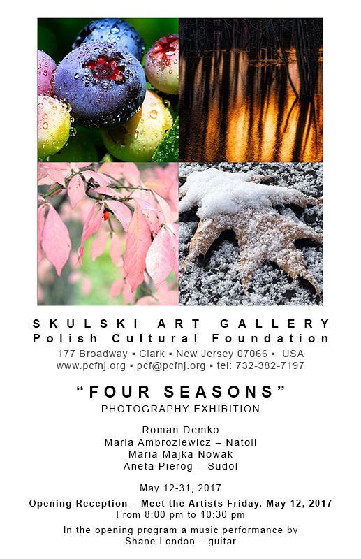 """Four Seasons"" - a photography exhibit"